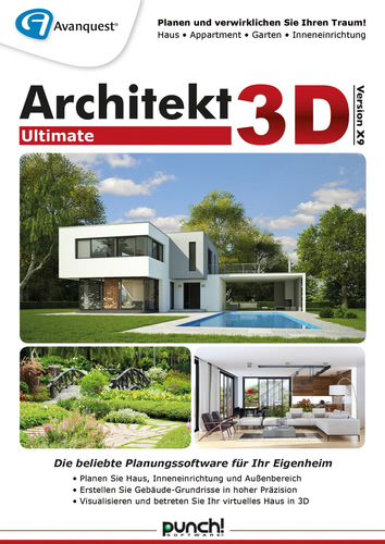 Verpackung von Architekt 3D X9 Ultimate [PC-Software]