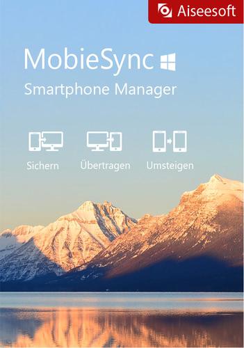 Verpackung von Aiseesoft Mobie Sync (lebenslange Lizenz) [PC-Software]