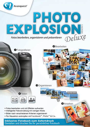 Photo Explosion 5 Deluxe (Download), PC