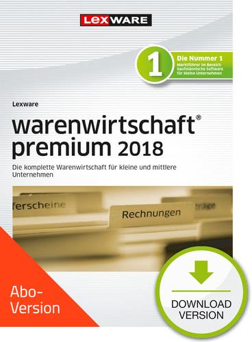 Verpackung von Lexware warenwirtschaft premium 2018 Download - Abo Version [PC-Software]