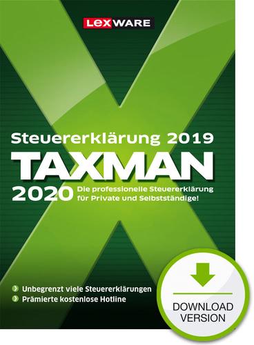 Verpackung von TAXMAN 2020 (für Steuerjahr 2019) [PC-Software]