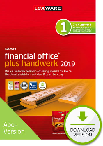 financial office plus handwerk 2019 Download – Abo Version (Download), PC