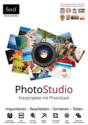 Verpackung von PhotoStudio - Fotoprojekte mit PhotoStack [PC-Software]