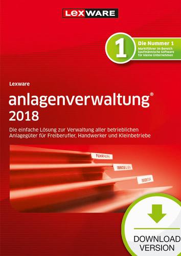 Verpackung von Lexware anlagenverwaltung 2018 Jahresversion 365-Tage [PC-Software]