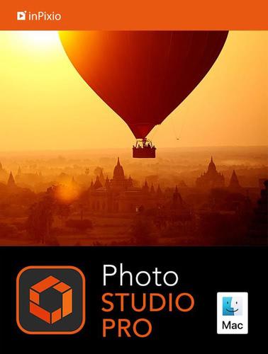 Verpackung von inPixio Photo Studio 10 Pro für MAC [Mac-Software]