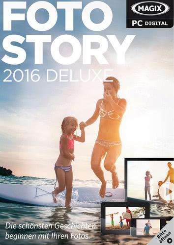 Verpackung von Magix Fotostory 2016 Deluxe [PC-Software]