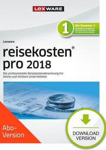 Verpackung von Lexware reisekosten pro 2018 Download - Abo Version [PC-Software]