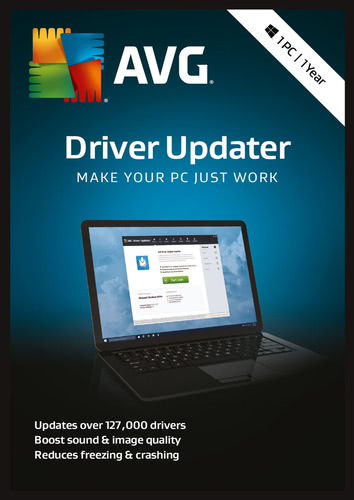 Packaging by AVG Driver Updater (2018) [PC-software]