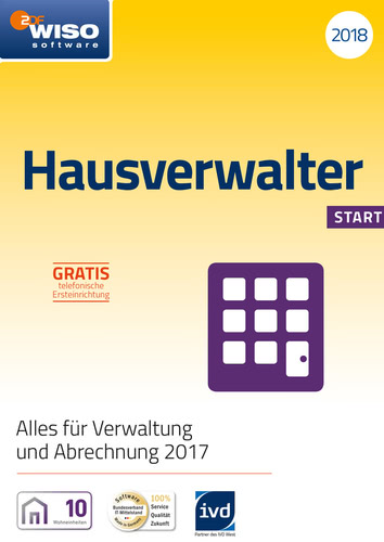 WISO Hausverwalter 2018 Start, ESD (Download) (PC)