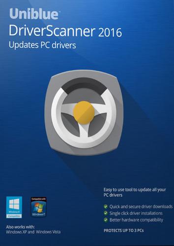 Verpackung von Uniblue DriverScanner 2016 [PC-Software]