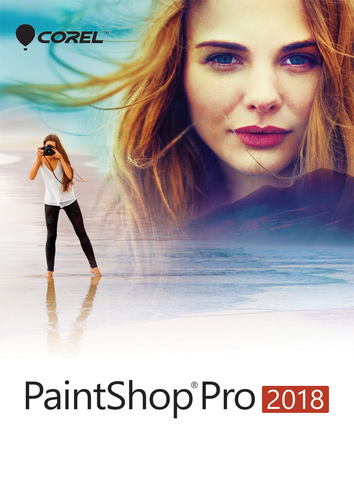 Packaging by PaintShop Pro 2018 [PC-software]