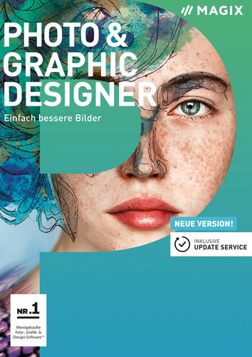 Verpackung von Magix Photo & Graphic Designer [PC-Software]