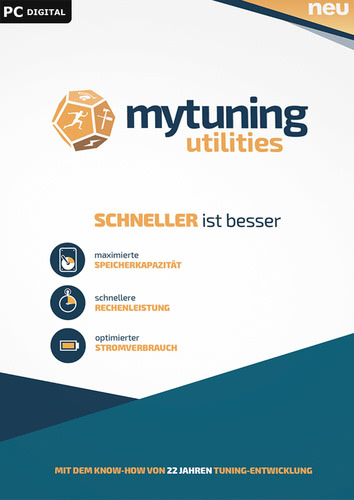 Verpackung von S.A.D. mytuning utilities 1 PC [PC-Software]