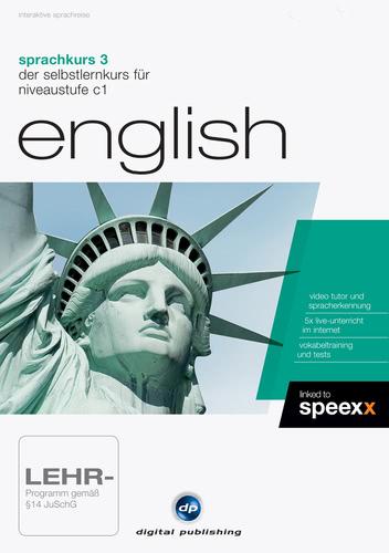 Verpackung von Sprachkurs 3 English [PC-Software]