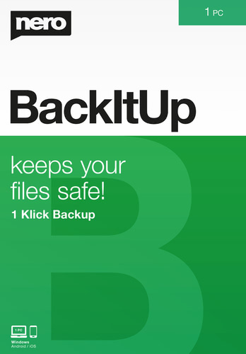 Verpackung von Nero BackItUp [PC-Software]