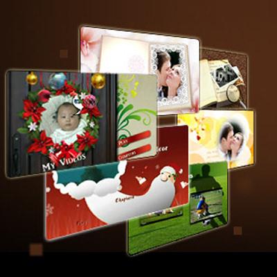 Verpackung von Weihnachts-DVD-Menüs Set 2 [PC-Software]