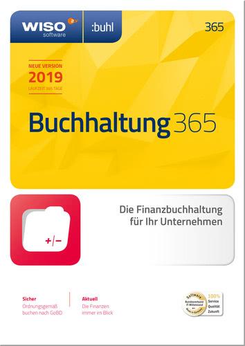 Verpackung von WISO Buchhaltung 365 (2019) [PC-Software]
