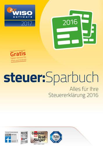 Verpackung von WISO steuer:Sparbuch 2017 (für Steuerjahr 2016) [PC-Software]