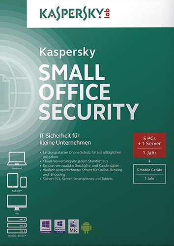 Verpackung von Kaspersky Small Office Security 4 [PC-Software]