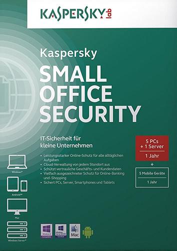 Verpackung von Kaspersky Kaspersky Small Office Security 4 Update [PC-Software]