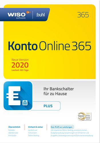 Verpackung von WISO Konto Online Plus 2020 (Jahresversion 365-Tage) [PC-Software]