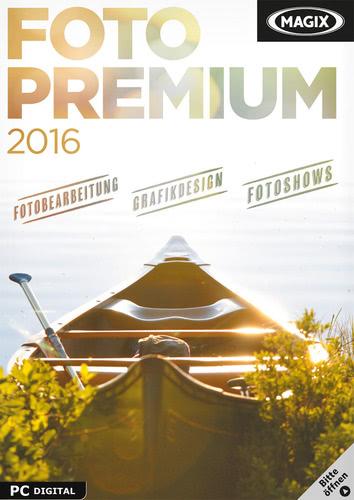 Verpackung von Magix Foto Premium 2016 [PC-Software]