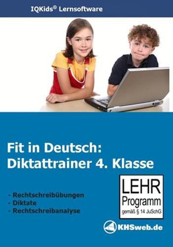 Verpackung von Fit in Deutsch - Diktattrainer - Klasse 4 [PC-Software]