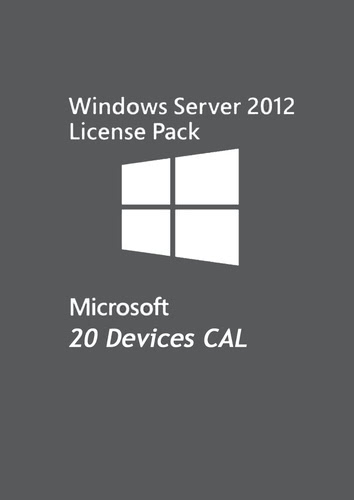 Verpackung von Microsoft Windows Server 2012 - 20 Device CAL [PC-Software]