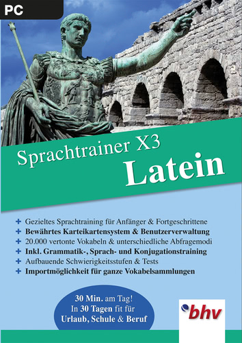 Sprachtrainer X3 Latein (Download), PC