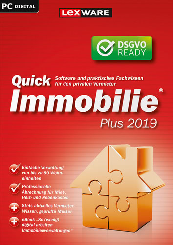QuickImmobilie plus 2019 (Download), PC