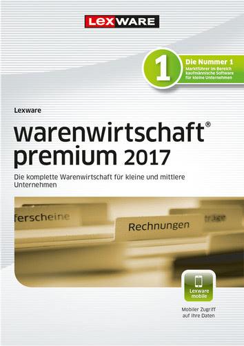 Verpackung von Lexware warenwirtschaft premium 2017 Jahresversion (365-Tage) [PC-Software]
