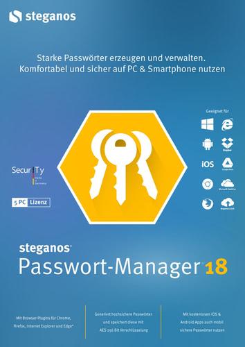 Verpackung von Steganos Passwort-Manager 18 [PC-Software]