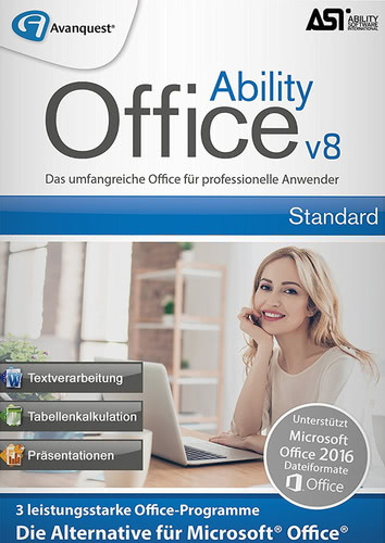 Ability Office 8, (Box), PC