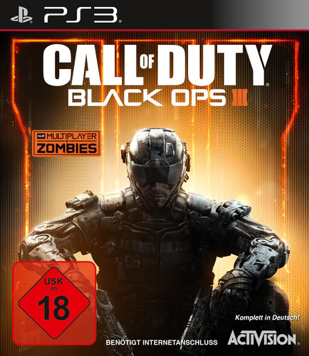 Verpackung von Call of Duty: Black Ops 3 [PS3]