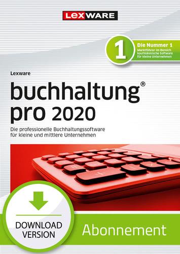 Verpackung von Lexware buchhaltung 2020 pro - Abo Version [PC-Software]