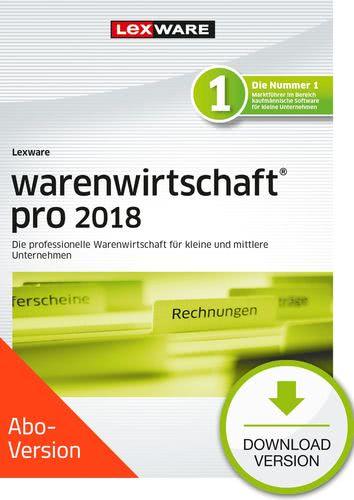 Verpackung von Lexware warenwirtschaft pro 2018 Download - Abo Version [PC-Software]