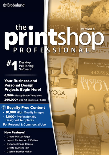Printshop 4 Pro (Download), PC