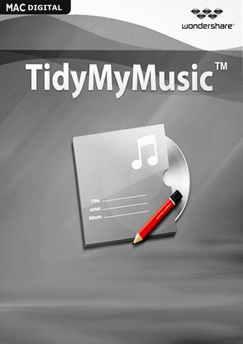 Verpackung von Wondershare TidyMyMusic für Mac [Mac-Software]