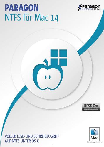 Verpackung von Paragon NTFS für Mac 14 [Mac-Software]