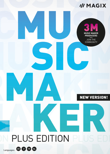 Verpackung von Music Maker 2020 Plus Edition [PC-Software]