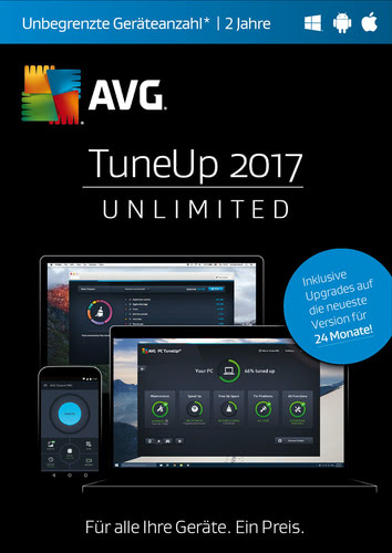 AVG TuneUp 2017 Unlimited 1 User / 24 Monate