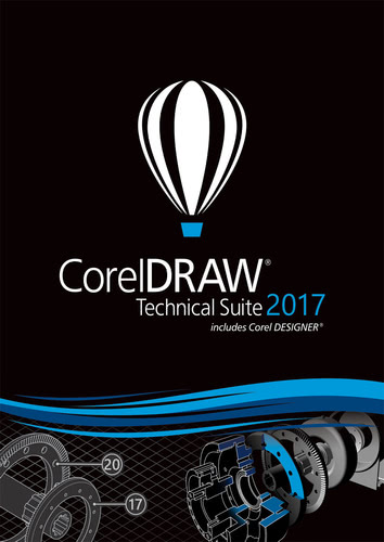 Verpackung von CorelDRAW Technical Suite 2017 Upgrade [PC-Software]