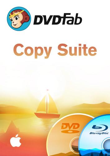 Verpackung von DVDFab Copy Suite Mac (DVD Copy & Blu-ray Copy) (24 Monate) [Mac-Software]