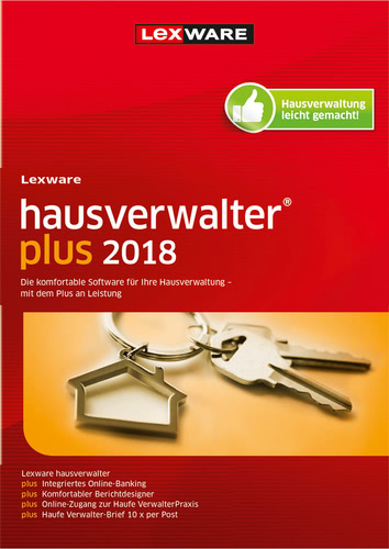 Verpackung von Lexware hausverwalter plus 2018 [PC-Software]