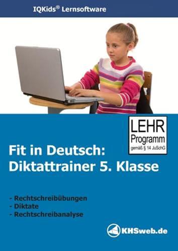 Verpackung von Fit in Deutsch - Diktattrainer - Klasse 5 [PC-Software]