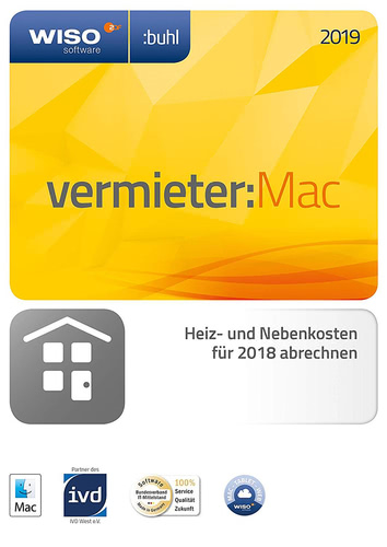 WISO Vermieter 2019 MAC (Download), MAC