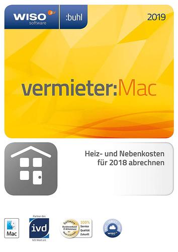 Verpackung von WISO Vermieter 2019 MAC [Mac-Software]