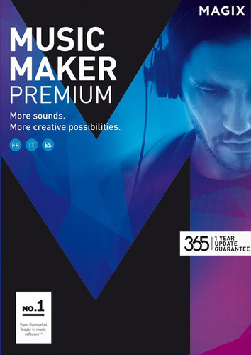 Packaging by Magix Music Maker Premium (2017) [PC-software]