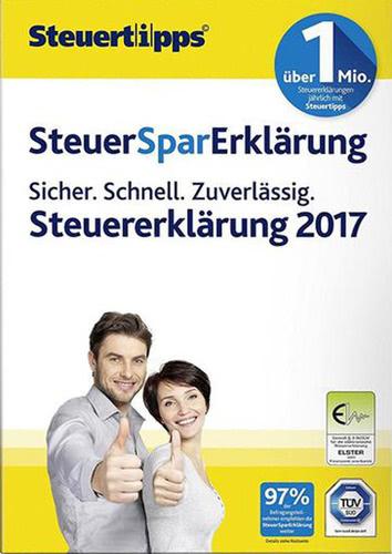 Verpackung von SteuerSparErklärung 2018 (für Steuerjahr 2017) [PC-Software]