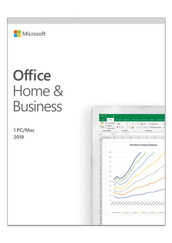Microsoft Office Home & Business 2019, (Box), Multi